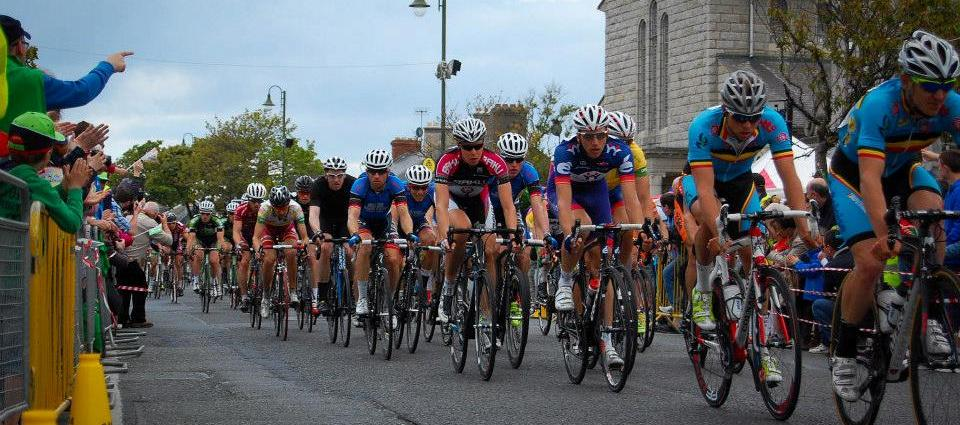 Cyclists in Skerries