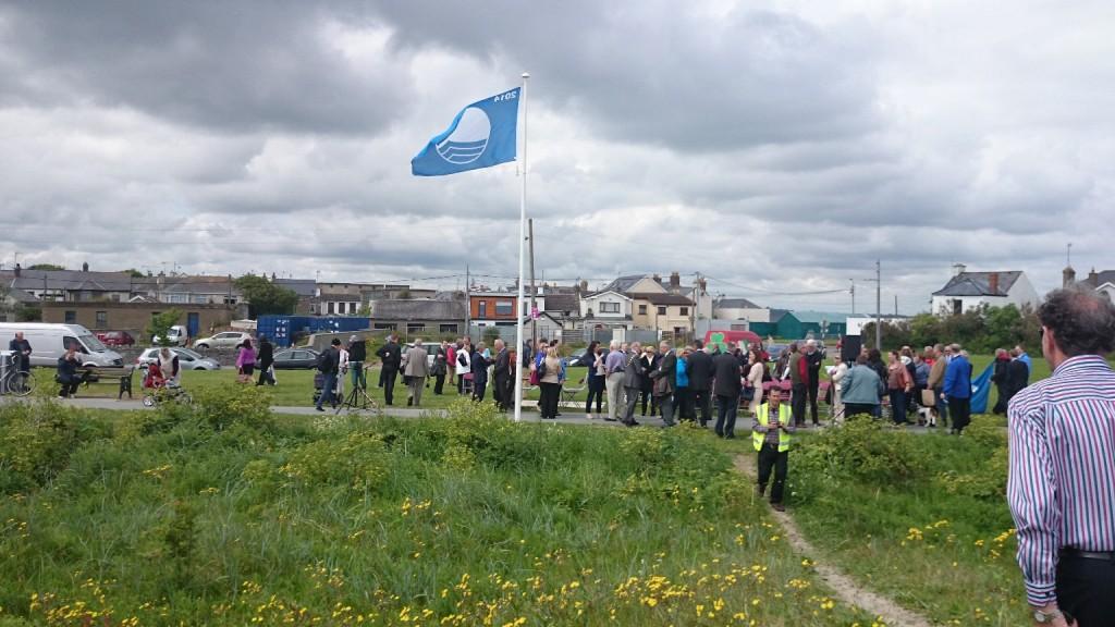 Blue Flag flying 2014