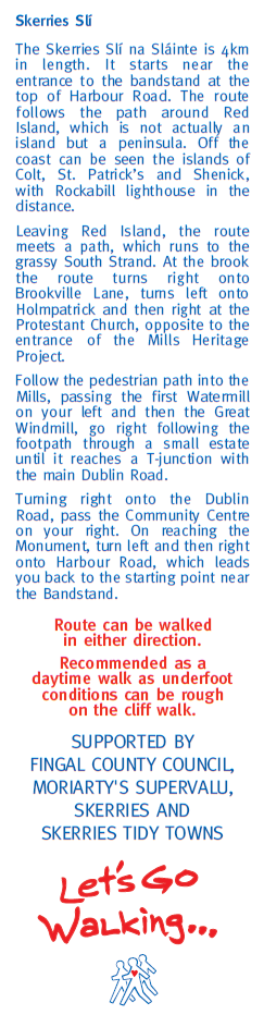 description of the route