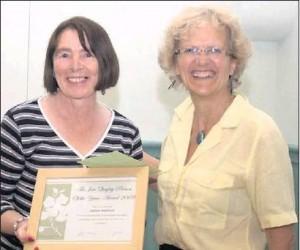 jim- quigley-award-2009 Sheila Brennan