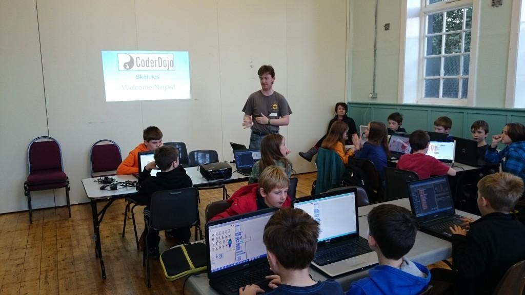 Intermediate Group November 2014 CoderDojo