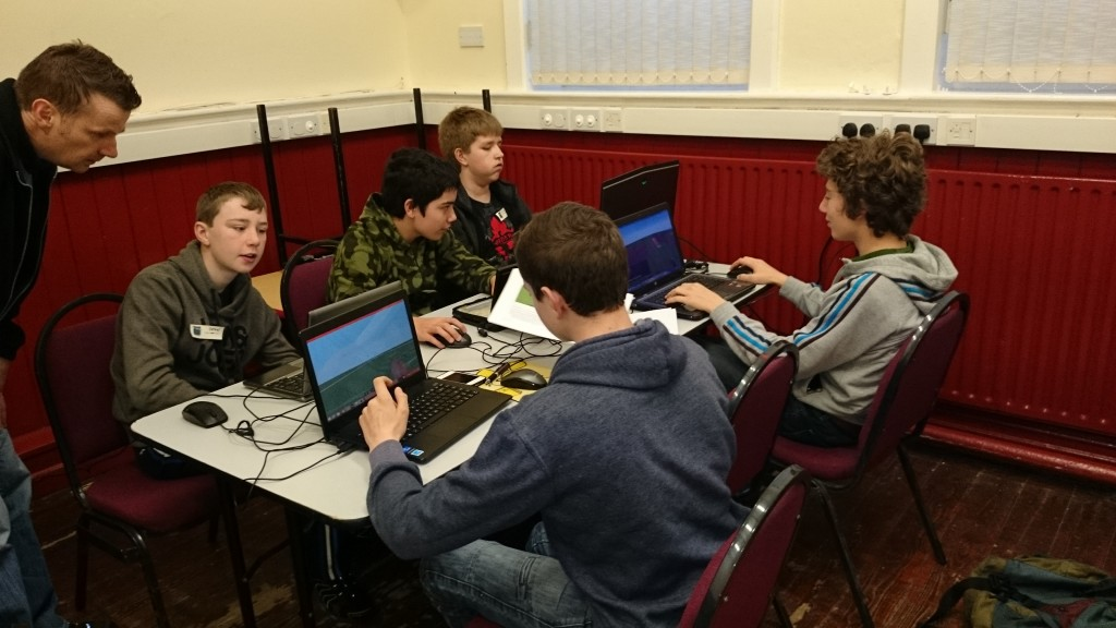 Advanced Group November 2014 CoderDojo