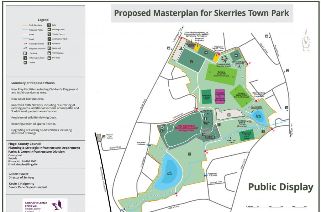 Skerries Town Park Masterplan