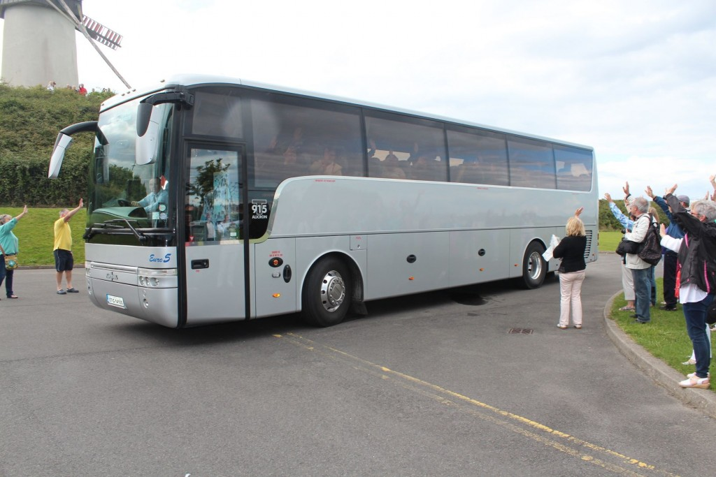 bus departing Skerries Mills 2014