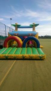 bouncy castle community centre August 2015