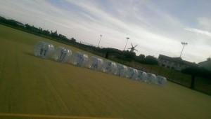 bubble football Community Centre 2015
