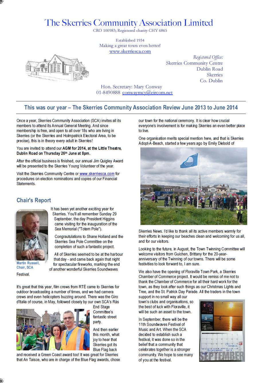 Report 2014 01