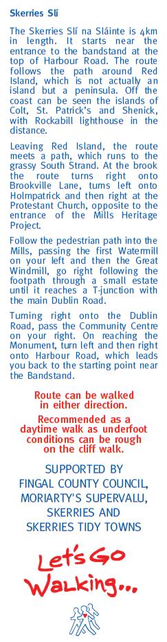 description of the route