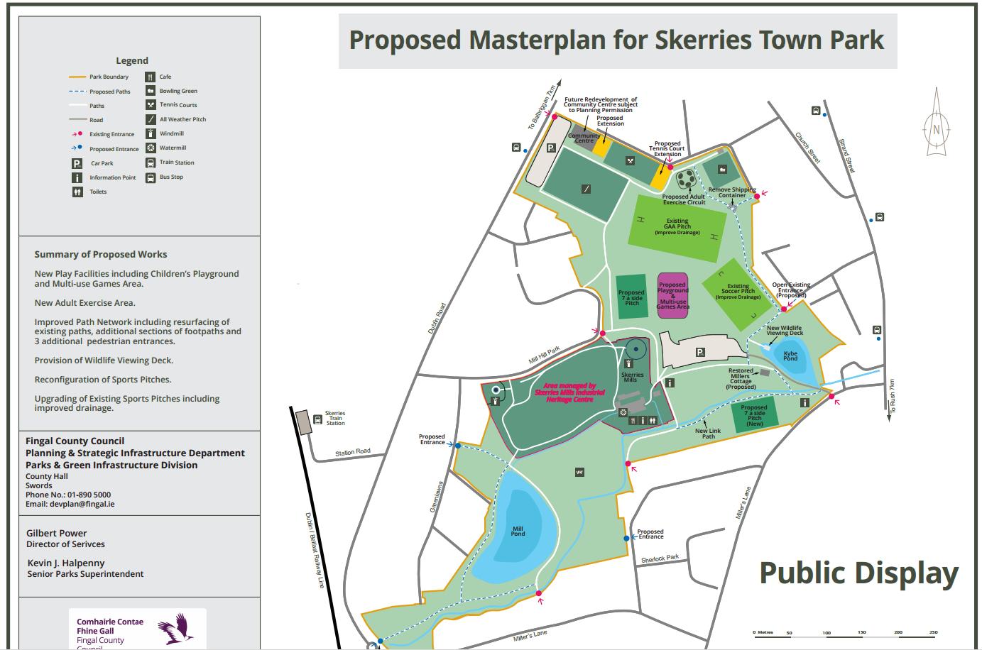 Skerries Town Park Masterplan