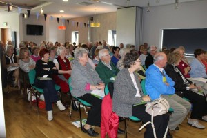 More than 170 people, many senior citizens from Skerries, attended the launch of the Skerries Age Friendly Information Pack on 30 August 2015 in the new club house of Skerries Harps GAA Club.